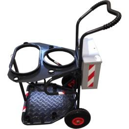 Chariot double triselec - Aluminium